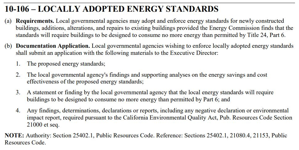 10-106-Locally Adopted Energy Standards